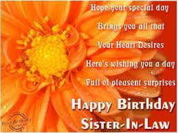 best lovely birthday wishes for sister in law birthday wishes
