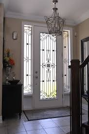 decorative front door glass inserts are