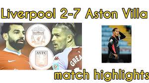 Liverpool vs Aston Villa highlights ...