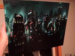 Bioshock Canvas Art Rapture Concept Art Young Cheap And Classy