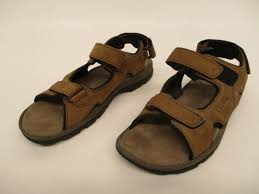 brown leather sandals sz 12