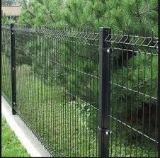 China Hot Selling Pvc Coated Welded Wire Mesh Fence Panels China Galvanized Pvc Coated Welded Wire Fencing Metal Fence Panels