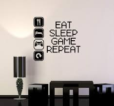 Vinyl Decal Gaming Video Game Gamer Lifestyle Quote Wall Sticker Mural Wallstickers4you