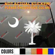Palmetto Tree South Carolina Flag State Decal Sticker Car Vinyl Pick Size Color Die Cut No Background Car Stickers Aliexpress