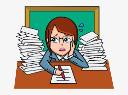 Frustrated Student Clipart Transparent - Frustrated Teacher Clipart -  640x530 PNG Download - PNGkit