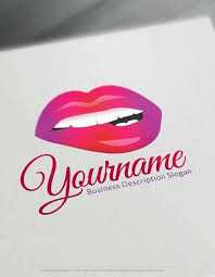 y lips logo free with makeup logo maker