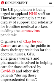 News about #clapforourcarers on Twitter