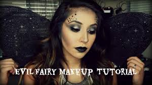easy evil fairy halloween makeup you