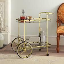 vintage serving drinks trolley cart