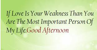 The Most Important Person Of My Life Good Afternoon | ScrapsYard.com
