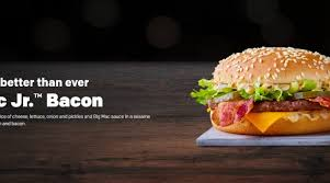 mac jr bacon mcdonald s uk 2019