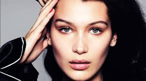 bella hadid makeup transformation