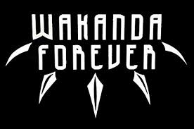 Cci Wakanda Forever Black Panther Decal Buy Online In Guernsey At Desertcart