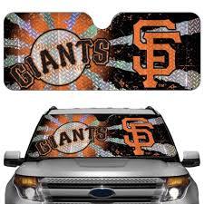 San Francisco Giants Car Truck Suv Front Windshield Sunshade Accordion Style Komononooereeae