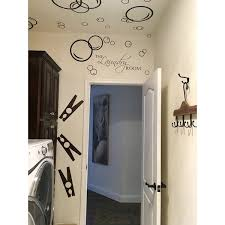 Top Product Reviews For Decal The Walls Laundry Room With Bubbles Vinyl Wall Art Decal 7018239 Overstock