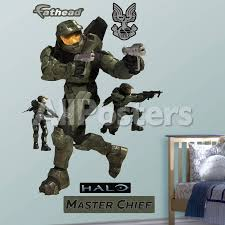 Halo Master Chief Wall Decal Sticker Wall Decal Allposters Com