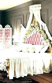 grey black white and pink bedroom