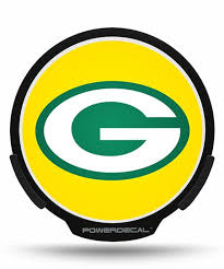 Powerdecal Green Bay Packers Led Window Decal Best Price And Reviews Zulily