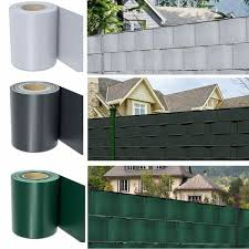 65m Privacy Fence Screen Pvc Tarpaulin Strip Rolls Screen Fence Uv Resistance Perfect For Garden Balcony Land Protection Wish In 2020 Privacy Fence Screen Fence Screening Privacy Fence