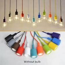 ceiling rope cord pendant lamp holder