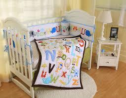7pcs girls baby bedding set elephant
