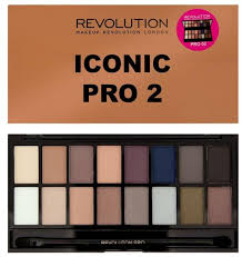 iconic pro two palette revolution uk