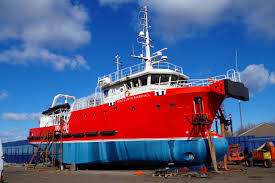 Motor Vessel DSV CURTIS MARSHALL built by B Marshall Marine Ltd. in 2015  for B Marshall Marine Ltd., Middlesbrough, Diving Support