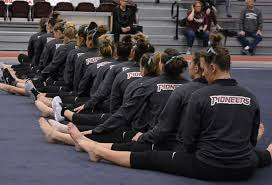 Gymnastics gains another win at Centenary - Texas Woman's University  Athletics