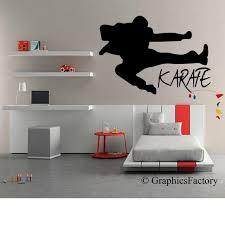 Karate Wall Decal Karate Decal Kids Room Karate Karate Etsy
