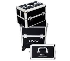 nyx cosmetics makeup artist train case