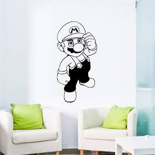 Cartoon Super Mario Vinyl Wall Sticker For Living Room Kids Room Decoration Sticker Mural Home Wall Decor Vinyl Wall Decals Buy At The Price Of 2 58 In Aliexpress Com Imall Com