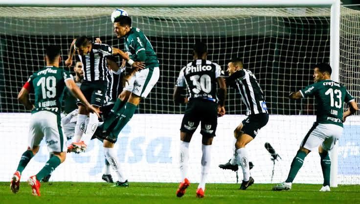 Resultado de imagem para Santos e Palmeiras