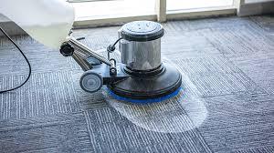 clean mercial carpet