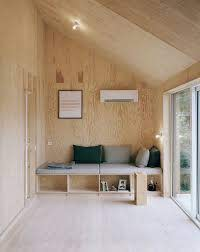 exposed plywood wall finish plywood