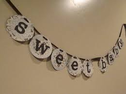 how to make a baby shower banner