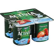 activia yogurt nonfat light