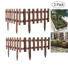 Volwco Wooden Picket Fencing Instant Fen Buy Online In Chile At Desertcart