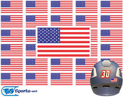 American Flag Helmet Decals For Baseball Football Hockey Etsy