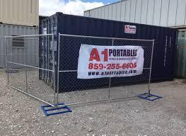 Fence Barricade Rentals A1 Portables