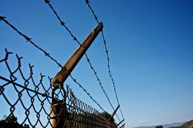 Barbed Wire Security Fence Free Stock Photo Public Domain Pictures