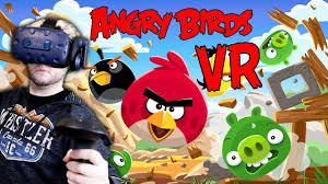 Angry Birds VR Game Holds a Catapult in Your Hand - Gadget For Today