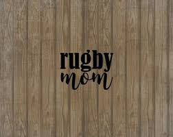 Rugby Car Decal Etsy