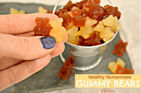 healthy homemade gummy bears fitful focus