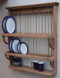 44 wooden plate rack uk wall mounted