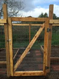 When You Live In An Area With An Abundance Of Deer And Rabbits You Need A Fence Around Your Garden In 2020 Fence Gate Design Wooden Garden Gate Garden Gate Design