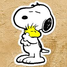 Snoopy Hugging Woodstock Peanuts Love Friendship Car Window Wall Decal Sticker Ebay