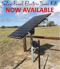 We Have Solar Panel Electric Fence Kits Sinclair Electrical Solutions Facebook