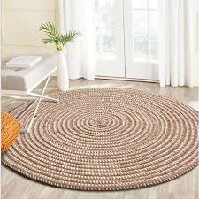 hand woven thicken round rugs soft cozy