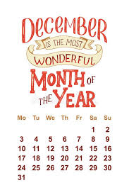 vector calendar for hand drawn lettering quotes