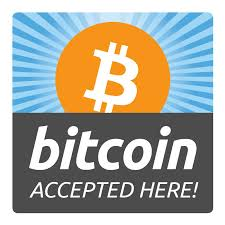 Bitcoin Accepted Here 4x4 Getbranded Com